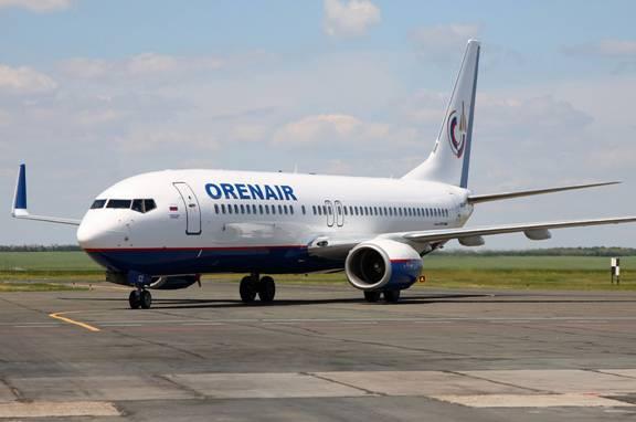 Авиакомпания Оренбургские авиалинии (Orenair)